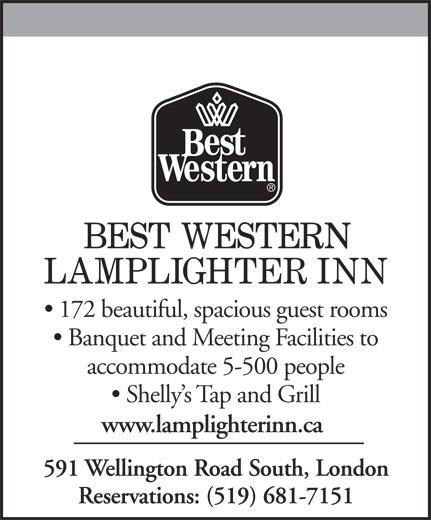 Best Western Plus (519-681-7151) - Display Ad -