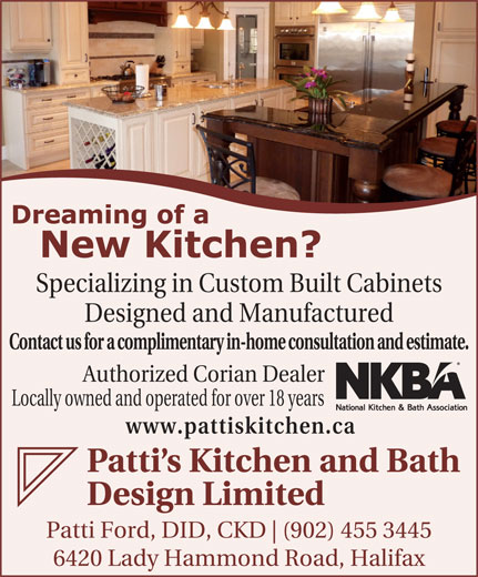 Ads Patti's Kitchen & Bath Design Ltd