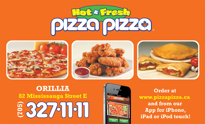 Pizza Pizza (705-327-1111) - Annonce illustrée======= -