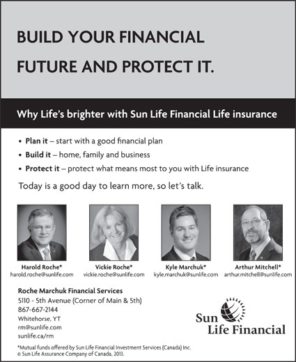 Sun Life Financial (867-667-2144) - Display Ad -