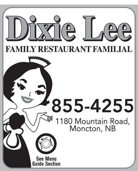 Dixie Lee Maritimes (506-855-4255) - Annonce illustrée======= -