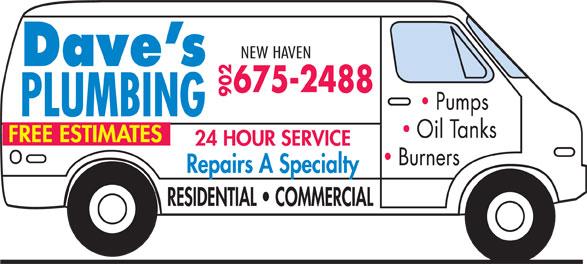 Dave's Plumbing & Heating (902-675-2488) - Annonce illustrée======= -