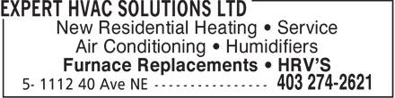 Ads Expert Hvac Solutions Ltd