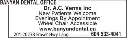 Banyan Dental Office (604-533-4041) - Annonce illustrée======= - Dr. A.C. Verma Inc New Patients Welcome Evenings By Appointment Wheel Chair Accessible www.banyandental.ca  Dr. A.C. Verma Inc New Patients Welcome Evenings By Appointment Wheel Chair Accessible www.banyandental.ca  Dr. A.C. Verma Inc New Patients Welcome Evenings By Appointment Wheel Chair Accessible www.banyandental.ca  Dr. A.C. Verma Inc New Patients Welcome Evenings By Appointment Wheel Chair Accessible www.banyandental.ca  Dr. A.C. Verma Inc New Patients Welcome Evenings By Appointment Wheel Chair Accessible www.banyandental.ca  Dr. A.C. Verma Inc New Patients Welcome Evenings By Appointment Wheel Chair Accessible www.banyandental.ca  Dr. A.C. Verma Inc New Patients Welcome Evenings By Appointment Wheel Chair Accessible www.banyandental.ca  Dr. A.C. Verma Inc New Patients Welcome Evenings By Appointment Wheel Chair Accessible www.banyandental.ca