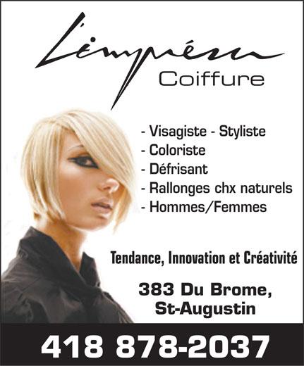 Salon de coiffure l 39 impr vue 383 rue du br me saint for Miroir coiffure st augustin