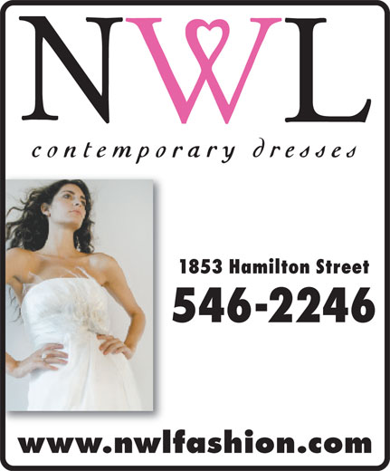 NWL Contemporary Dresses (306-546-2246) - Display Ad -