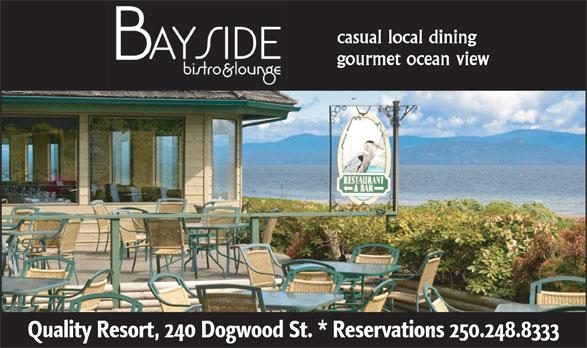Bayside Bistro & Lounge (250-248-8333) - Display Ad -