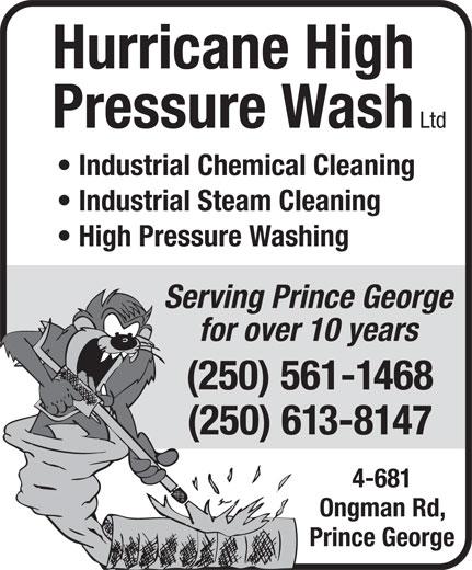 Ads Hurricane High Pressure Wash Ltd