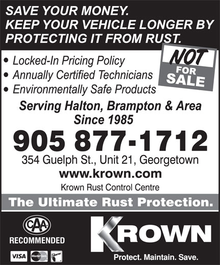 Ads Krown Rust Control Centre