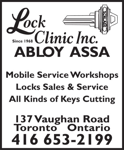 Ads Lock Clinic Inc