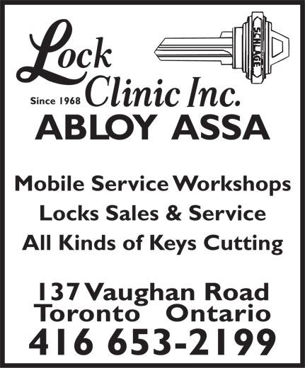 Ads Lock Clinic Inc