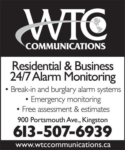 WTC Communications (613-409-6939) - Annonce illustrée======= -