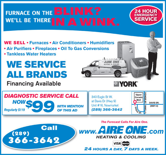 Ads Aire One Heating & Cooling Inc