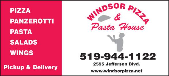 Windsor Pizza (519-944-1122) - Display Ad -