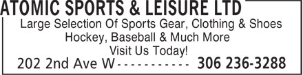 Ads Atomic Sports & Leisure Ltd