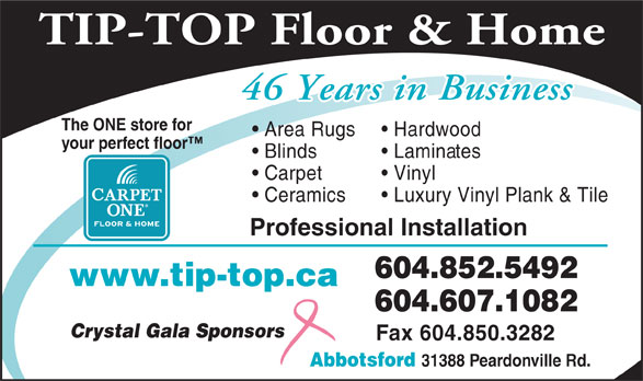 Ads Tip Top Carpets Ltd