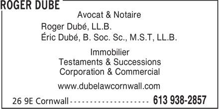 Ads Dube Roger