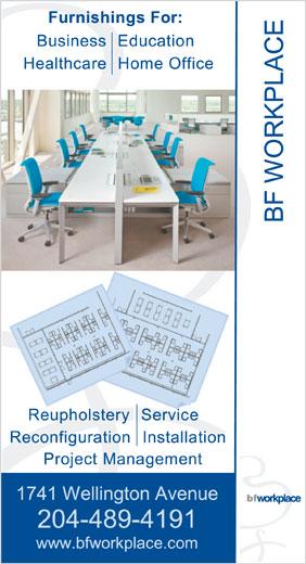 BF Workplace (204-489-4191) - Annonce illustrée======= -