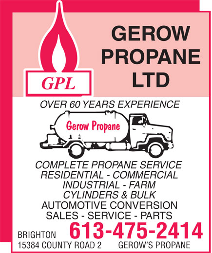 Ads Gerow's Propane