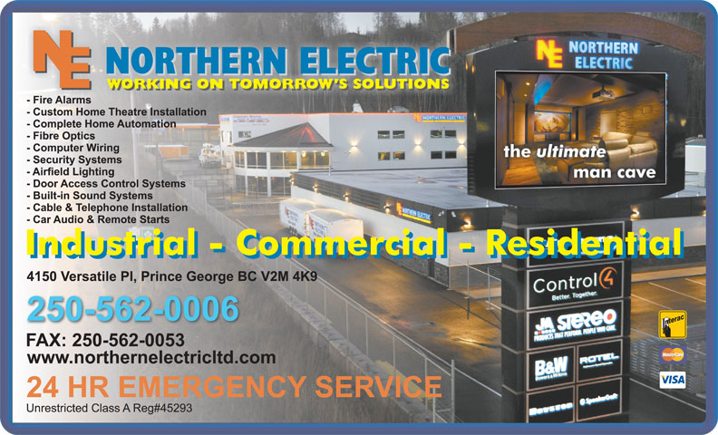 Northern Electric (250-562-0006) - Display Ad -