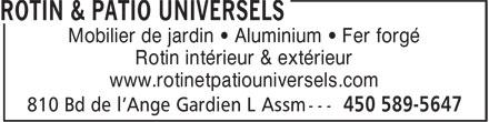 Fleuristes Universels (450-589-5647) - Display Ad -