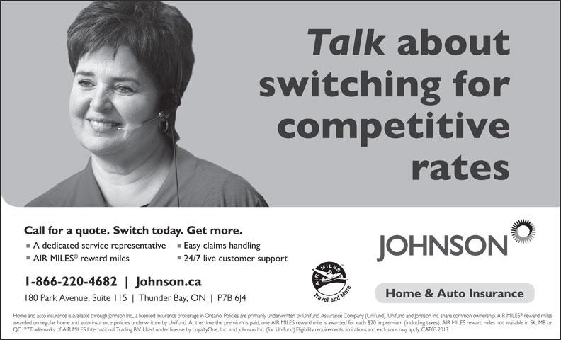 Johnson Inc (1-866-206-4478) - Annonce illustrée======= -