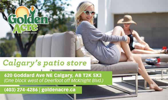 Golden Acre Garden Centre (403-274-4286) - Annonce illustrée======= -