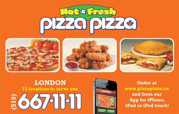 Pizza Pizza (519-667-1111) - Annonce illustrée======= -