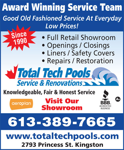 Ads Total Tech Pools & Spa