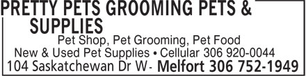 Pretty Pets Grooming Pets & Supplies (306-752-1949) - Annonce illustrée======= - Pet Shop, Pet Grooming, Pet Food New & Used Pet Supplies • Cellular 306 920-0044 Pet Shop, Pet Grooming, Pet Food New & Used Pet Supplies • Cellular 306 920-0044 Pet Shop, Pet Grooming, Pet Food New & Used Pet Supplies • Cellular 306 920-0044 Pet Shop, Pet Grooming, Pet Food New & Used Pet Supplies • Cellular 306 920-0044