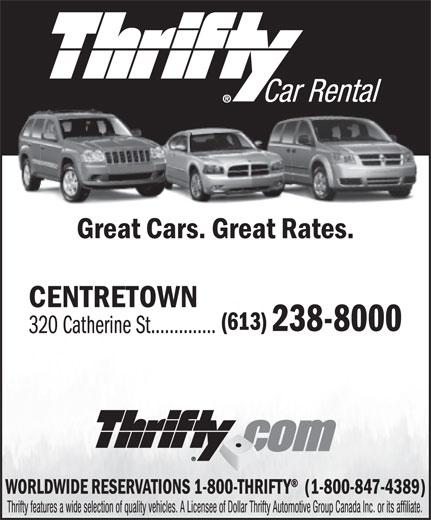 Thrifty Car Rental Hull