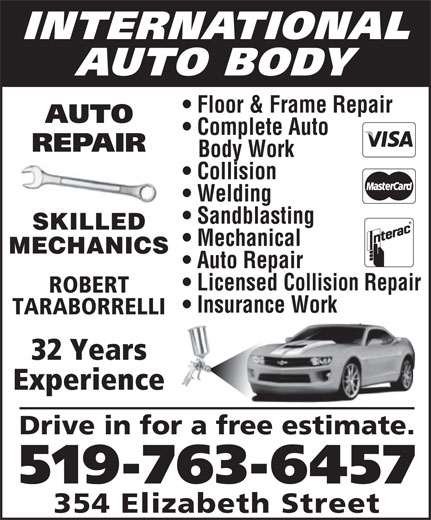 Ads International Auto Body Floor & Frame Repair