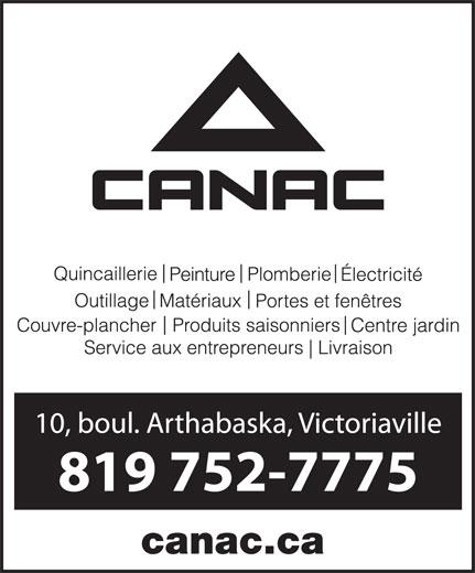 Canac (819-752-7775) - Display Ad - canac.ca