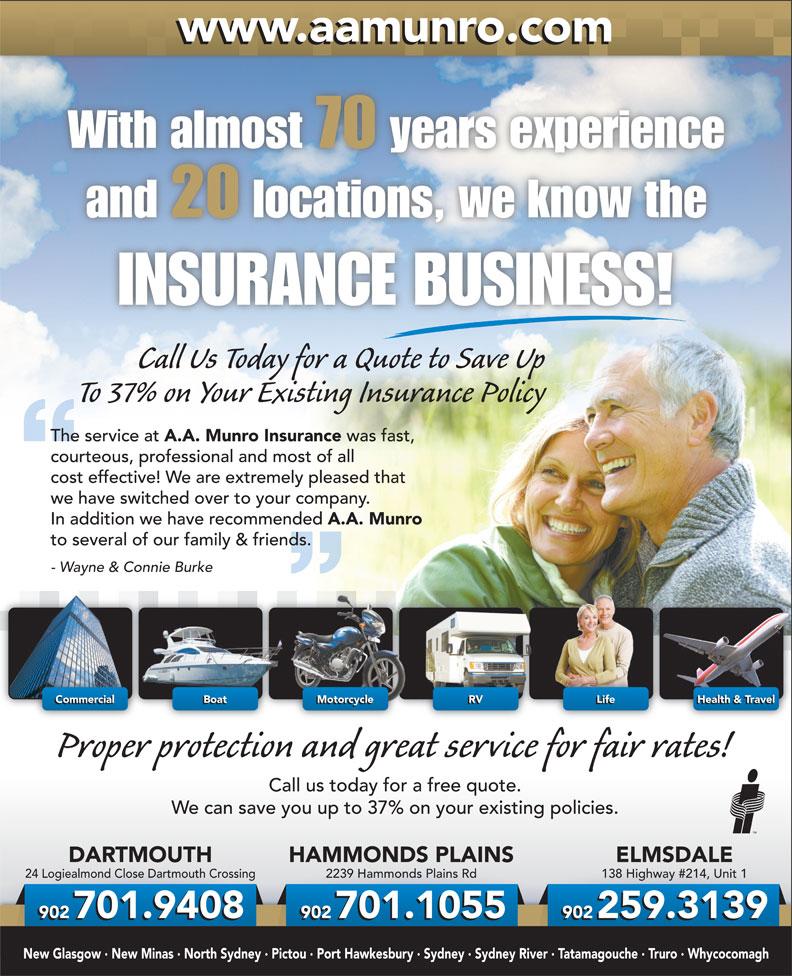 AA Munro Insurance Brokers Inc