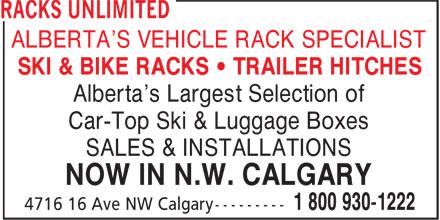 thule car racks calgary