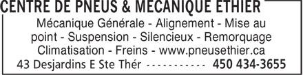Ads Pneus Ethier Inc