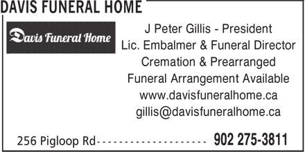 Ads Davis Funeral Home