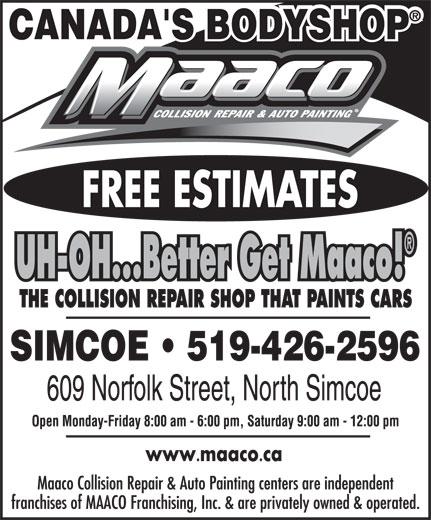 Maaco (519-426-2596) - Display Ad -