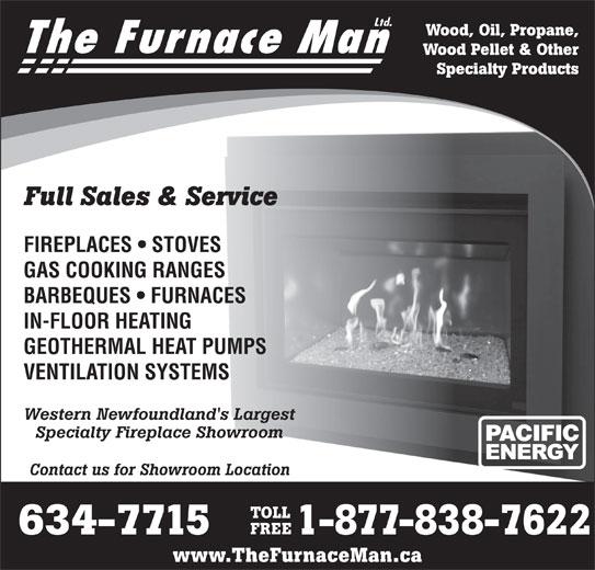 The Furnace Man Ltd (709-634-7715) - Display Ad -