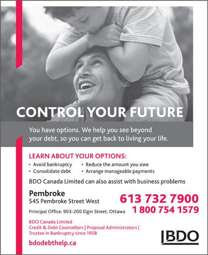 BDO Canada (613-732-7900) - Display Ad -