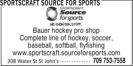 Ads Sportscraft Source For Sports