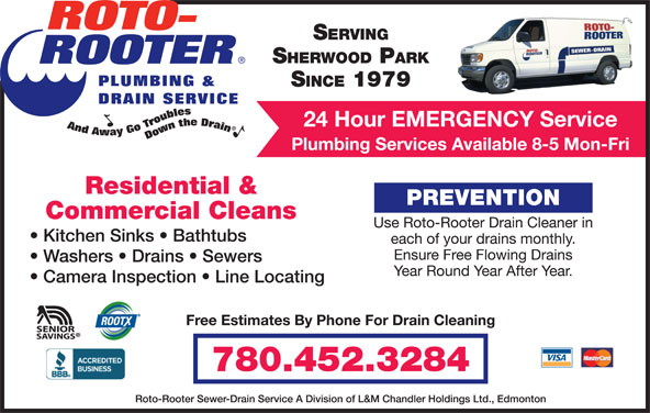 Roto Rooter Sewer Drain Service Edmonton Ab 12609 127