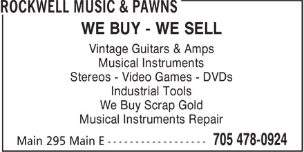 Ads Rockwell Music & Pawns