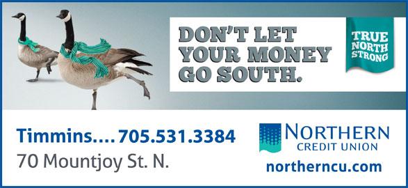 Northern Credit Union (705-267-6846) - Display Ad -