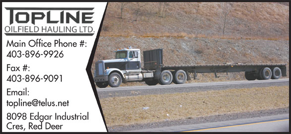 Ads Topline Oilfield Hauling Ltd
