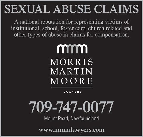 Morris Martin Moore (709-747-0077) - Display Ad -