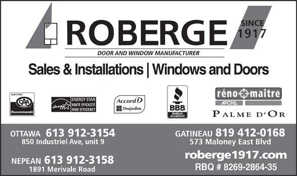 Ads Roberge Doors & Windows