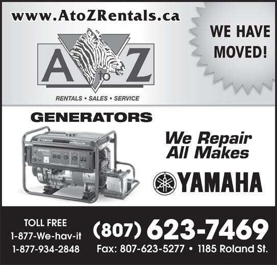Apartment Rental Help: A To Z Rentals Sales & Service
