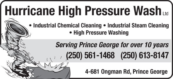 Ads Hurricane High Pressure Wash Ltd
