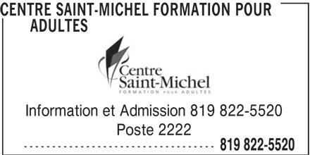 Ads Centre Saint-Michel Formation pour Adultes